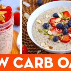 Low Carb Oatmeal! Hot Porridge & Overnight Oats Keto Breakfast Recipes – Mind Over Munch