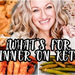 WHAT'S FOR DINNER ON KETO? | WHAT TO EAT KETO DIET | EASY KETO MEAL PREP | Suz And The Crew