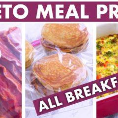 Keto Meal Prep Breakfast Ideas! #kickstart2019