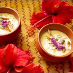 Keto Dessert Rabdi | Rabri