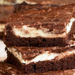Keto Cheesecake Stuffed Brownies Recipe