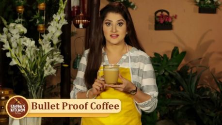 Bullet Proof Coffee | Sahiba's Kitchen | Keto Diet | Breakfast Recipe | Lifestyle With Sahiba