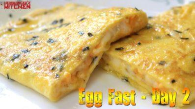 Keto Egg Fast – Day 2 – Omelets | Headbanger's Kitchen | Keto Vlogs