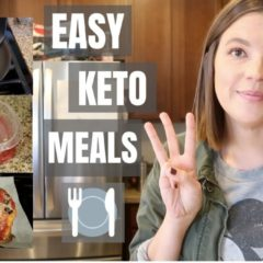 Easy Keto Meals! // Breakfast – Lunch – Dinner