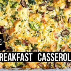 Keto Breakfast Casserole  | Keto Full Day Of Eating