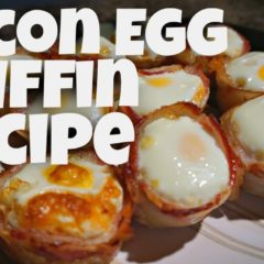 Keto Egg And Bacon Bites – Ketogenic – Recipes – Quick And Easy Breakfast Ideas – Keto Diet