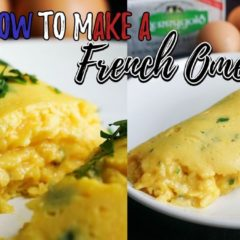 How To Make A French Omelette | Keto Breakfast Recipes