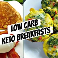 Healthy Low Carb Breakfast Ideas | Keto & Paleo Friendly