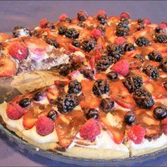 Keto Dessert Pizza | Keto Recipes | Keto Dessert | Sugar Free & Gluten Free Dessert