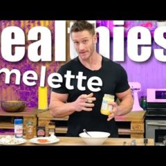 EASY Pink + Gold Breakfast Omelette Recipe Will Change Your Morning